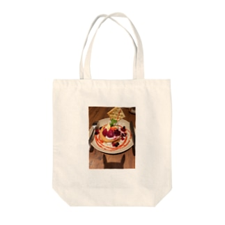 pancake Tote bags