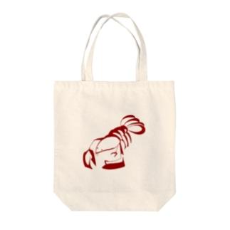 ザリガニちゃん Tote bags