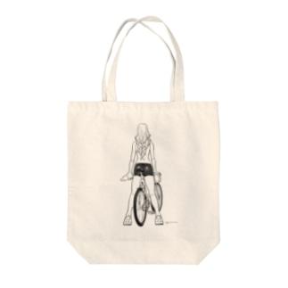 fixed bike Tote Bag