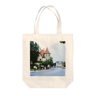 ドイツ:フュッセンの風景写真 Germany: view of Füssen Tote bags