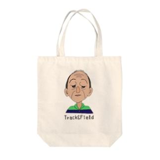 おじモン Tote bags