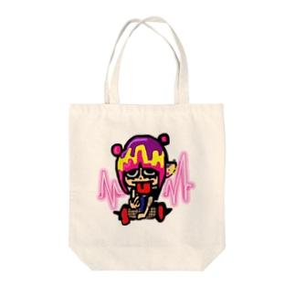 ぴえんちゃん🥺 Tote bags