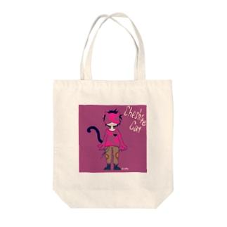 チェシャ猫 Tote bags