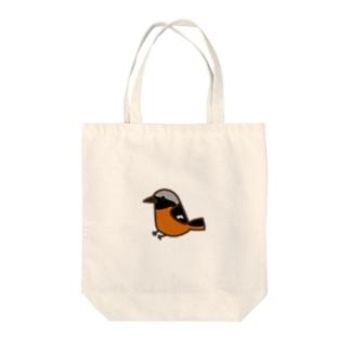 ジョウビタキ Tote bags