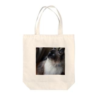 にゃんこ先生・朝活 Tote bags
