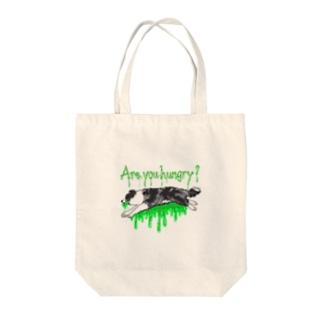 ボーダーコリー景虎グッズ Tote bags