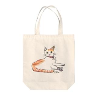 100nyans073.kai_handsomecat Tote bags