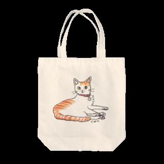 CUROGNACの100nyans073.kai_handsomecat Tote bags
