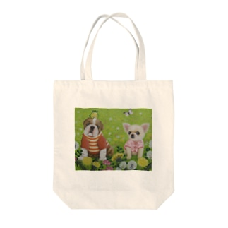 春うらら Tote bags