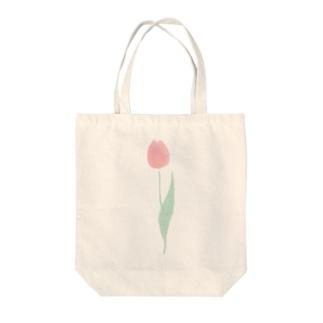 ちゅーりっぷ_愛の芽生え(ピンク) Tote bags