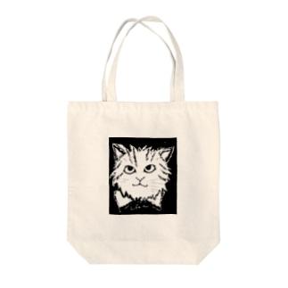 ミイちゃん Tote bags