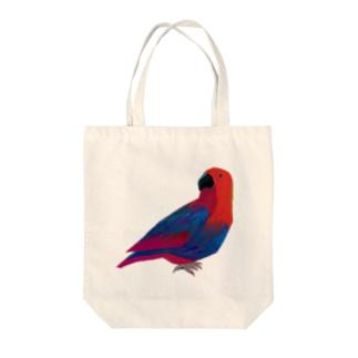 オオハナインコ Tote bags