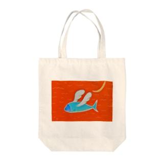 天使を夢見る魚 Tote bags