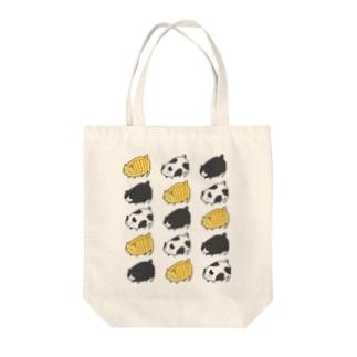 デブ猫 Tote bags
