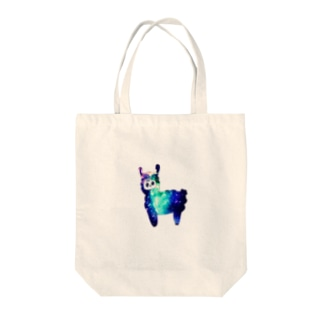 from Aの宇宙アルパカ Tote bags