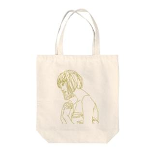 恋する乙女。 Tote bags