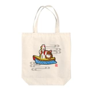 小幡人形 カチカチ山(滋賀) Tote Bag