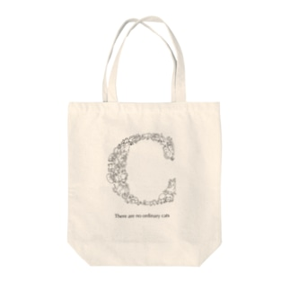 猫文字『C』 Tote bags