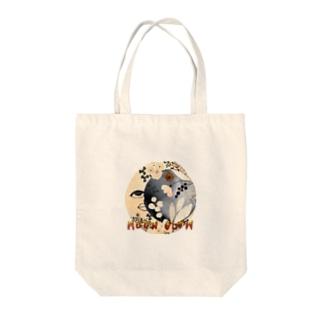 ムーングロウ Tote bags