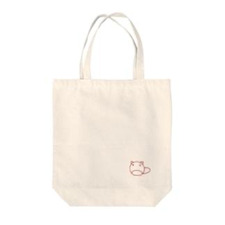 ぽんちゃん Tote bags