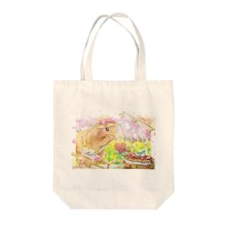 ボールペン画のイラストレーター・白石拓也のデジタルイラスト「プロポーズ」 Tote bags