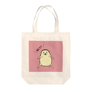 HEY!ハリネズミ(ピンク) トートバッグ