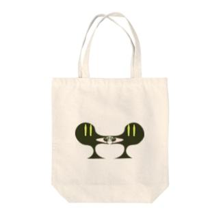 グリーンED Tote bags