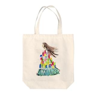 オリジナルアマビエ Tote bags