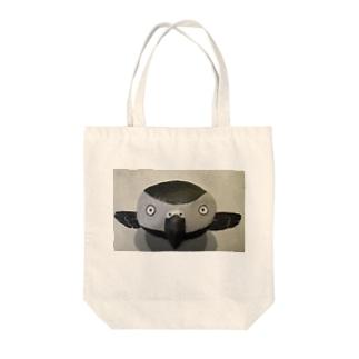 モノトーン・ヨウム Tote bags