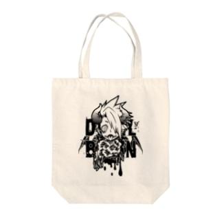 DEVILBRAIN Tote bags