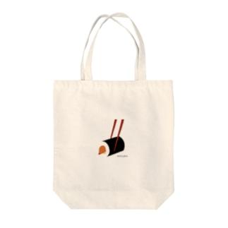 もぐら寿司 Tote bags