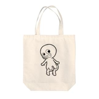 プリケツ君 Tote bags