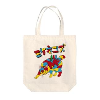 ミケネコズ Tote bags
