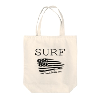 SURF in Malibu,CA Tote bags