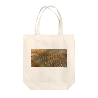 Wave8284の川の波紋 横長.ver Tote bags