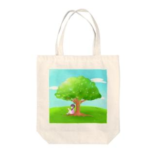 ひとやすみ【風景】 Tote bags