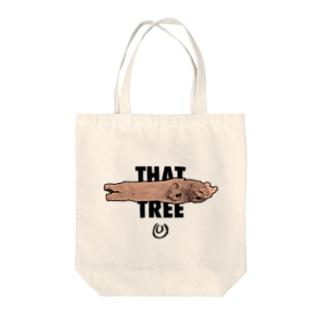 例の木 Tote bags