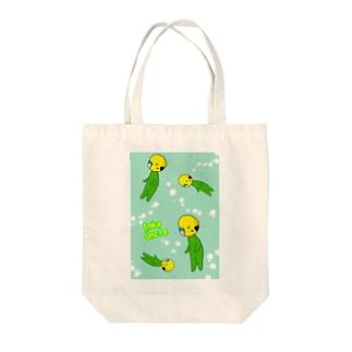 インコおじさん(バブル) Tote bags