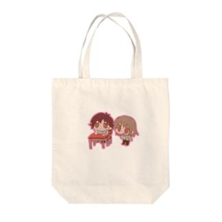 ともだち Tote bags