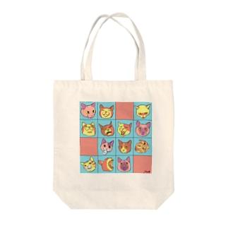猫陀羅化 Tote bags