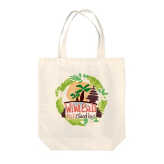 【チャリティーグッツ】トートバック wiwiBALIロゴ② Tote bags