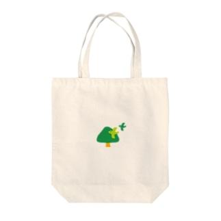 くすの木くん Tote bags