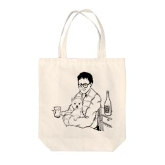 マリちゃんと一緒 Tote bags