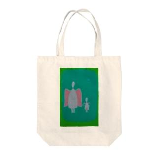 親子天使 Tote bags