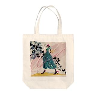 ミドリの女性 Tote Bag