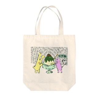 Shaved ice(painted) Tote bags