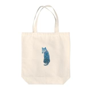 柴犬『流れ星の夜の夢』 Tote bags