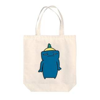 ぐぬぬ Tote bags