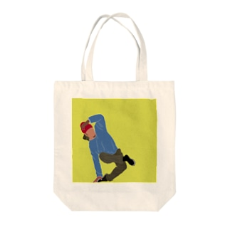 MYS.(Make Your Smile)のブレイクダンサー Tote bags