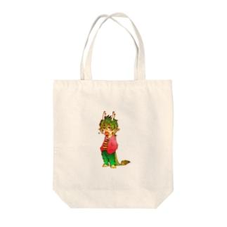 辰系男子 Tote bags